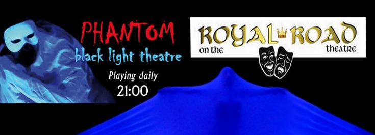 Phantom – black light theatre