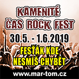 KAMENITÉ ČAS ROCK FEST 2019 - sobota