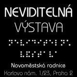 Neviditelná výstava - Dárkový poukaz na 30 min. neviditelné masáže