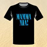 Triko pánské černé MAMMA MIA! - vel. XL