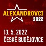 Koncert ALEXANDROVCI - European Tour 2019- České Budějovice