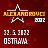 Koncert ALEXANDROVCI - European Tour 2019- Ostrava - Zábřeh