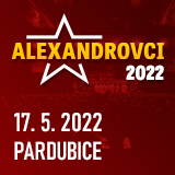 Koncert ALEXANDROVCI - European Tour 2019- Pardubice