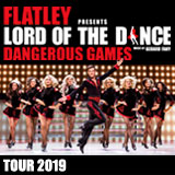 Tanec LORD OF THE DANCE - Dangerous Games 2019- Brno