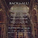 Bach for All: Filip Pogády, housle