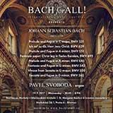 Bach fot All: Pavel Svoboda, varhany