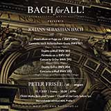 Bach for All: Peter Frisée, varhany