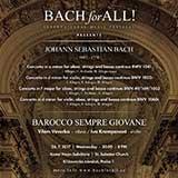 Bach for All: Barocco sempre giovane a Vilém Veverka
