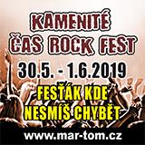 KAMENITÉ ČAS ROCK FEST 2019 - čtvrtek