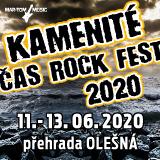 KAMENITÉ ČAS ROCK FEST 2020 - sobota
