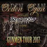 ORDEN OGAN - GUNMEN TOUR 2017