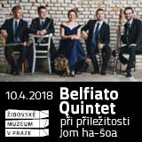 Belfiato Quintet - Koncert při příležitosti Jom ha-šoa
