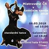 MISTROVSTVÍ ČR VE SPORTOVNÍM TANCI 2018 STT
