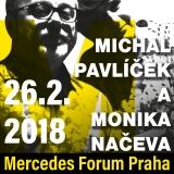 MICHAL PAVLÍČEK a MONIKA NAČEVA + smyčcový kvartet Pavla Bořkovce