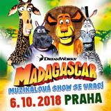 MADAGASKAR - MUZIKÁLOVÉ DOBRODRUŽSTVÍ 2018 (Praha)