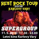 SUPERGROUP - BEST  ROCK TOUR K. Vary 2018