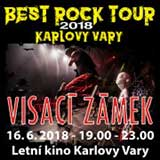 VISACÍ ZÁMEK - BEST ROCK TOUR K. Vary 2018