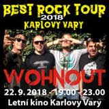 WOHNOUT - BEST ROCK TOUR K. Vary 2018