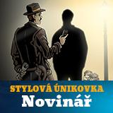 STYLOVÁ ÚNIKOVÁ HRA - NOVINÁŘ