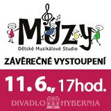Muzikálové studio Múzy - závěrečné vystoupení