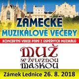 MUŽ SE ŽELEZNOU MASKOU (Muzikály v Lednici)