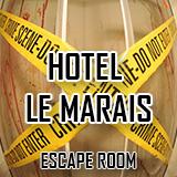 ÚNIKOVÁ HRA HOTEL LE MARAIS (4 osoby)
