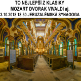 TO NEJLEPŠÍ Z KLASIKY v Jeruzalémské synagoze