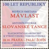 100 LET REPUBLIKY - BEDŘICH SMETANA - MÁ VLAST