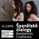 Španělské dialogy: Eliška Balabánová a Anna Císařovská