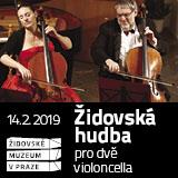 Židovská hudba pro dvě violoncella