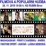 FILMOVÁ A POPULÁRNÍ HUDBA S ARISTO QUARTETEM