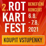 Benefiční ROT KART FEST (dvoudenní vstupenka)