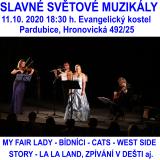 SLAVNÉ SVĚTOVÉ MUZIKÁLY (Pardubice)