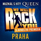 WE WILL ROCK YOU - slavnostní premiéra (Praha)