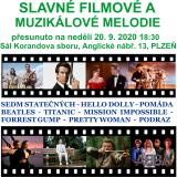 SLAVNÉ FILMOVÉ A MUZIKÁLOVÉ MELODIE (Plzeň)