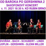 OD BAROKA PO GERSHWINA 2 - saxofonový koncert (Brno)