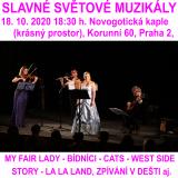SLAVNÉ SVĚTOVÉ MUZIKÁLY (Praha)