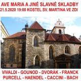 AVE MARIA a jiná slavná díla pro varhany, lesní roh a mezzosoprán