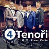4 TENOŘI - MUZIKÁLOVÉ GALA (Praha)