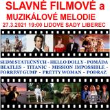SLAVNÉ FILMOVÉ A MUZIKÁLOVÉ MELODIE (Liberec)