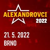 ALEXANDROVCI - European Tour 2021 (Brno 22.5.)