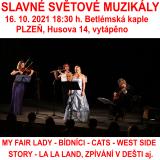 SLAVNÉ SVĚTOVÉ MUZIKÁLY (Plzeň)