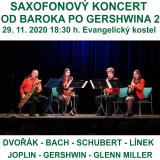 OD BAROKA PO GERSHWINA 2 - saxofonový koncert (Pardubice)
