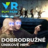 VR PLAY PARK ÚNIKOVÁ HRA (4 hráči)