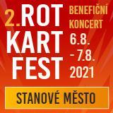 Benefiční ROT KART FEST (stanové městečko)