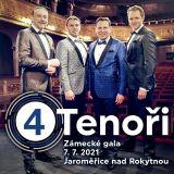 4 TENOŘI - MUZIKÁLOVÉ GALA (Jaroměřice nad Rokytnou)