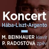 KONCERT MIROSLAVA BEINHAUERA - klavír (Ostrava)