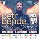 Koncert PETR BENDE & band a hosté - Vánoční turné 2019- Praha -Divadlo Kalich, Jungmannova 9, Praha 1