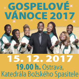 GOSPELOVÉ VÁNOCE 2017 (Ostrava)