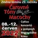Festival ČAROVNÉ TÓNY MACOCHY - Punkevní jeskyně 14.6.-